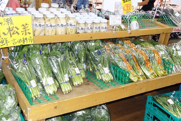 新鮮野菜直売所