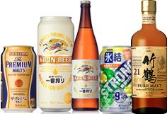 ビール・ワイン・洋酒などのお酒類